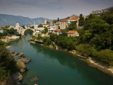Stari Most or Old Bridge over Neretva River