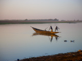 Boys Swimming in Niger River