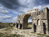 Arch of Triumph at Ruined Roman City of Volubilis