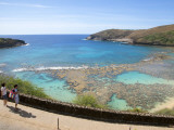 Protected Coral Reef at Hanauma Bay Park