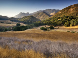 Malibu Creek State Park  from Mulholland Highway in Santa Monica Mountains Near Malibu