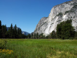Yosemite Valley from Valley Floor