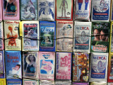 Medicinal Teas for Sale Outside Vega Central De Santiago