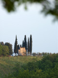 Chapel Amongst Vineyards in Chianti Region