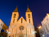 Catholic Cathedral at Dusk