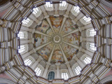 Frescoes Inside Dome at Basilica