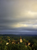 Morning Storm Clouds over Village of Carennac