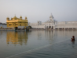 Harmandir Sahib (Golden Temple)  Reflecting in the Waters of the Amrit Sarovar