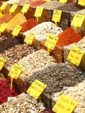 Variety of Teas at Market in Spice Bazaar  or Egyptian Bazaar