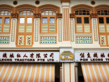 Architecture on Serangoon Road in Little India