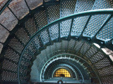 Iron Staircase of Currituck Beach Lighthouse