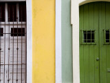 Colourful Colonial Doorways in Old San Juan
