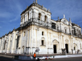 Basilica De La Asuncion Church Facade