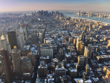 Manhattan from Empire State Building