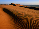 Wind-Sculpted Sand Dunes