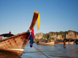 Long-Tail Boats at Railay West