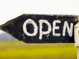Open Sign Detail