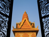 Fine Metal Gates of Wat Ounalom