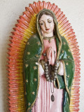 Lady of Guadalupe Statue Detail