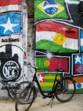 Graffiti and Bicycles at Arthouse Tacheles  Orianenburgerstrasse
