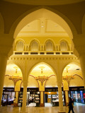 Interior of Dubai Mall Shopping Centre