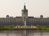Charlottenburg Palace on River Spree  Charlottenburg