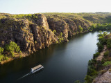 Tourist Boat Cruise in Katherine Gorge