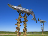 Fisherman's Dream Sculpture on the Enchanted Highway