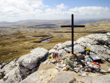 War Memorial to Fallen British Soldiers on Mount Tumbledown