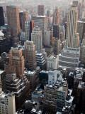 Manhattan Buildings from Rockefeller Center
