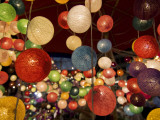 Colourful Fairy Lights Sold at Chiang Mai Night Bazaar