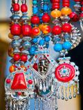 Colourful Tibetan Costume Jewellry for Sale on Darjeeling Mall