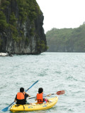 Kayaking at Ang Thong Marine Park
