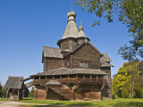 Wooden Church in Vitoslavlitsy Museum of Wooden Architecture