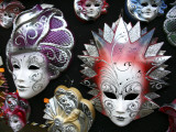 Painted Masks in Souvenir Shop