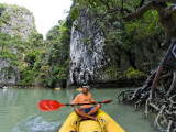 Kayak on Ao Phang Nga