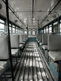 Inside of Bengali Bus