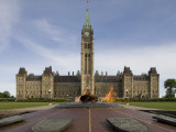 Centennial Flame Situated in Front of Centre Block at Parliament Hill