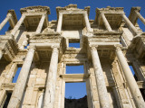 Greek Facade Ruins at Ephesus