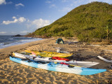Kayakers&#39; Camp on Sunken Reef Bay