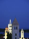 Four Bell Towers at Twilight