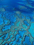 Aerial of Hardy Reef Offshore from Whitsundays Islands