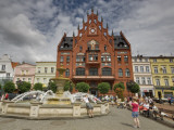 Fountain and Town Hall at Stary Rynek (Old Market Square)
