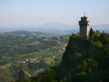 Rocca Montale Castle Built on Titan Mountain of Medieval San Marino