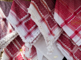 Head Scarfs for Sale at Shop on Hashemi Street