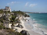 Tulum Ruins Along Caribbean Coastline