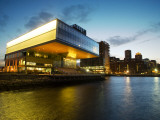 Institute of Contemporary Art in Evening Light