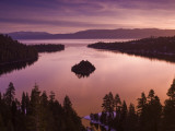 Winter Sunrise at Emerald Bay  Lake Tahoe