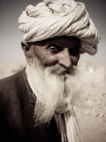 Portrait of Old Man from Khuri Village