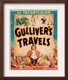 Gulliver's Travels  Window Card  1939